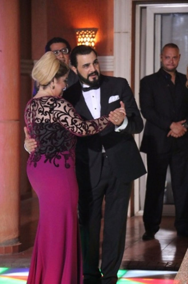 مها احمد و مجدي كامل