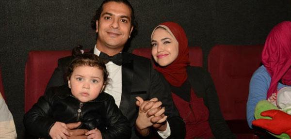 احمد سعد يحتفل بالعرض الخاص لفيلم على وضعك