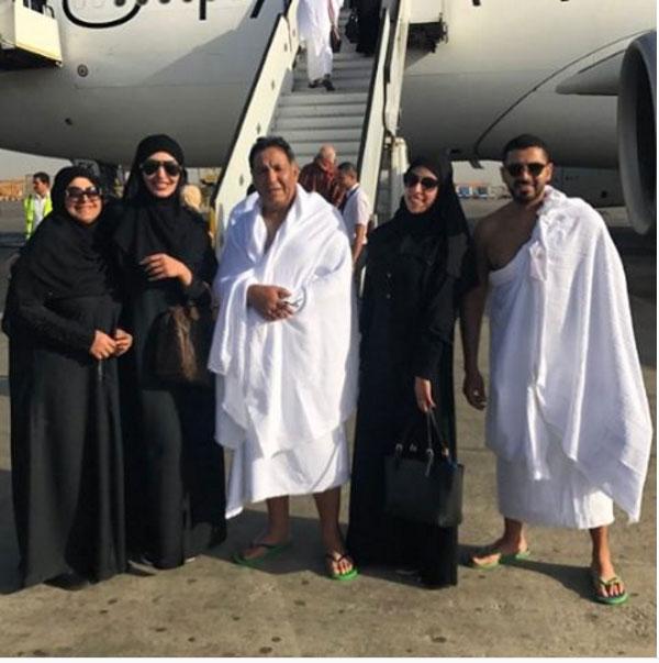 لأول مره سإلى عبد السلام ترد بمنتهى الغضب على اتهامها بوضع المكياج أثناء العمره 5 28/4/2017 - 4:53 م
