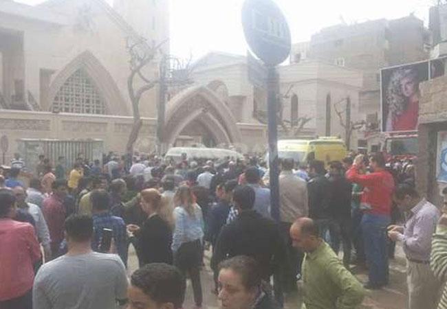 حادث الكنيسة  - بارزة