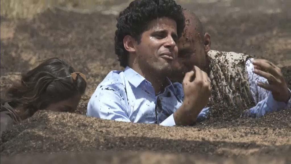 حمدي الميرغني أول فنان يبكي بسبب رامز جلال. صور