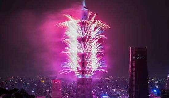 جانب من الاحتفالات في تايوان