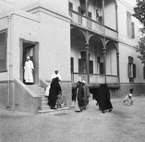 مشفى فيكتوريا عام 1920